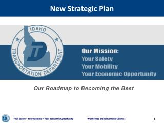 New Strategic Plan