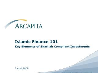 islamic finance 101 key elements of shari ah compliant investments