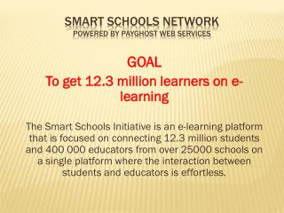 Smart Schools Network Powered by Payghost Web Services