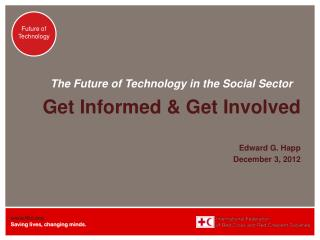 The Future of Technology in the Social Sector