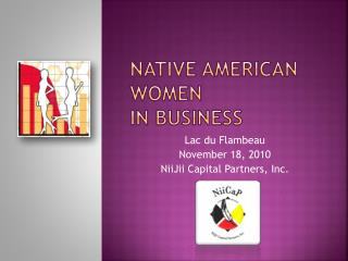 Native American women in business