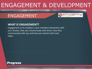 ENGAGEMENT & DEVELOPMENT