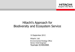 Hitachi, Ltd.