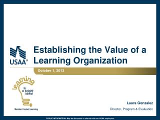 Establishing the Value of a Learning Organization