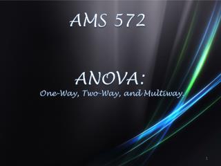 AMS 572