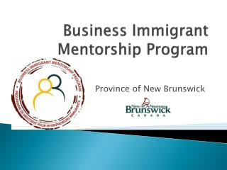 Business Immigrant Mentorship Program