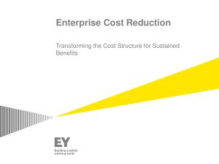 Enterprise Cost Reduction