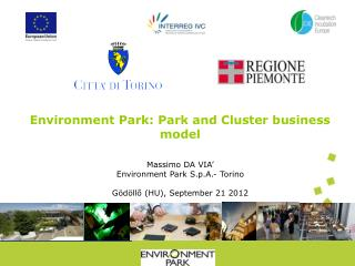 Environment Park:  Park  and Cluster business  model