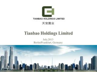 Tianbao  Holdings Limited