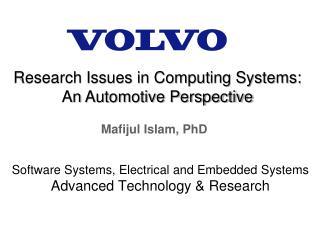 Mafijul Islam, PhD