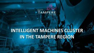 Intelligent Machines cluster in the Tampere Region