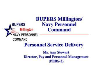 BUPERS Millington/  Navy Personnel Command