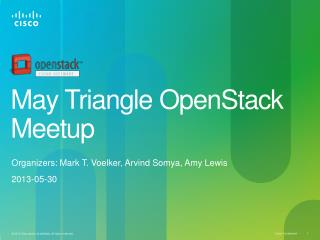 May Triangle OpenStack  Meetup