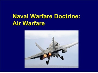 naval warfare doctrine: air warfare