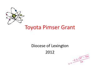 Toyota  Pimser  Grant