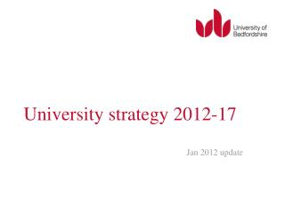 University strategy 2012-17