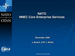 NATO NNEC  Core  Enterprise Services
