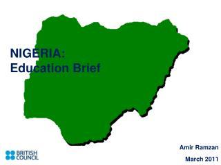 NIGERIA:  Education Brief