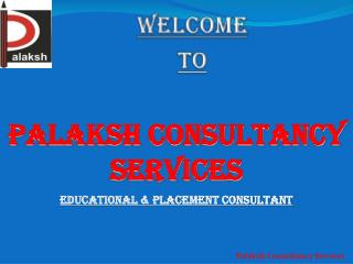 Palaksh Consultancy Services