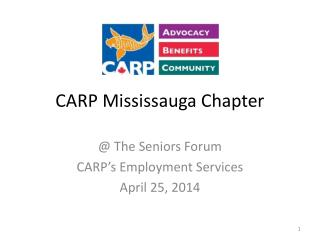CARP Mississauga Chapter