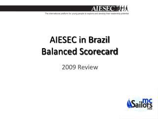 AIESEC in Brazil Balanced Scorecard