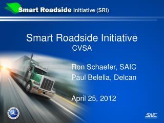 Smart Roadside Initiative CVSA