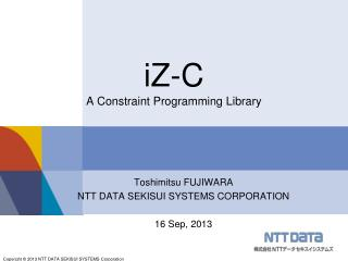 iZ-C A Constraint Programming Library