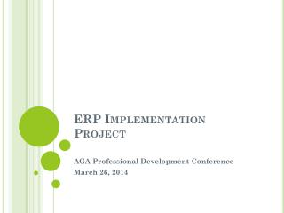 ERP Implementation Project