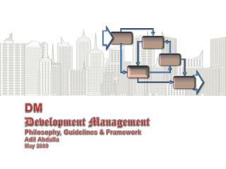 DM Development Management Philosophy, Guidelines & Framework Adil Abdalla May 2009