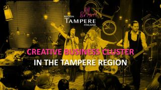 Creative  Business cluster  in  the Tampere Region