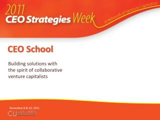 CEO School