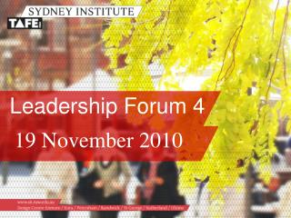 Leadership Forum 4