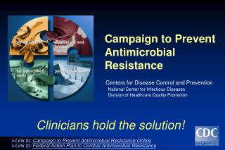 Presentation: Preventing Antimicrobial Resistance