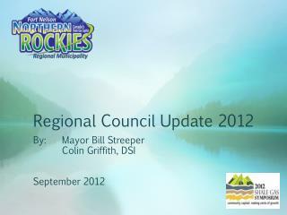 Regional Council Update 2012