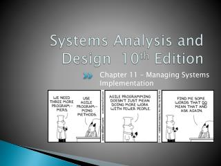 Systems Analysis and Design  10 th  Edition