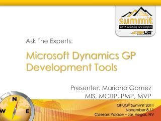 Microsoft Dynamics GP Development Tools