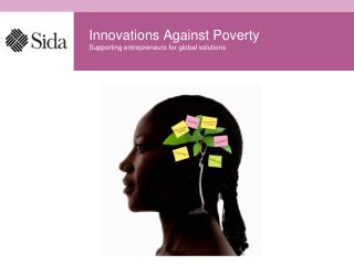 Innovations Against Poverty