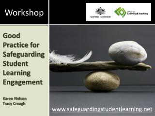 Good Practice for Safeguarding Student Learning Engagement Karen Nelson  Tracy Creagh