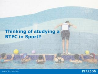 Thinking of studying a BTEC in Sport?