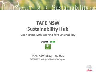 TAFE NSW  Sustainability Hub
