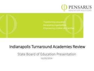 Indianapolis Turnaround Academies Review