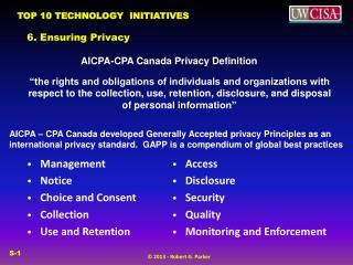 6. Ensuring Privacy