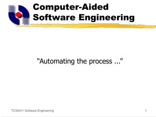 computer-aided software engineering