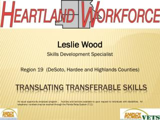 Translating TRANSFERABLE SKILLS