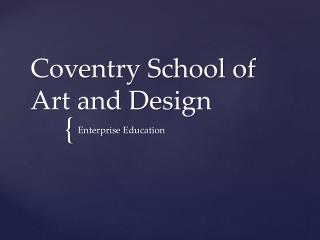 Coventry School of Art and Design