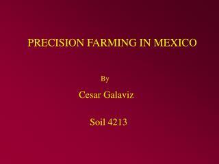 precision farming in mexico