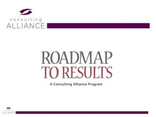 Roadmap To Results Objectives