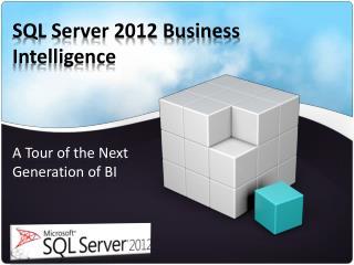 SQL Server 2012 Business Intelligence