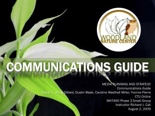 COMMUNICATIONS  GUIDE