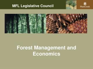 Forest Management and Economics